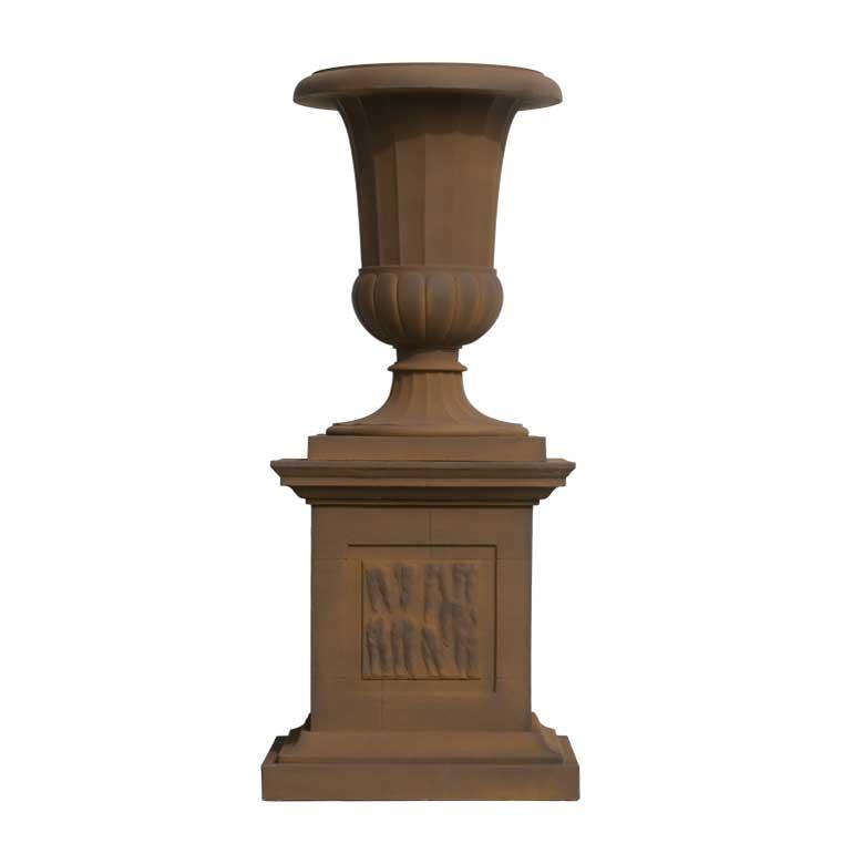 Fluted Bell Urn