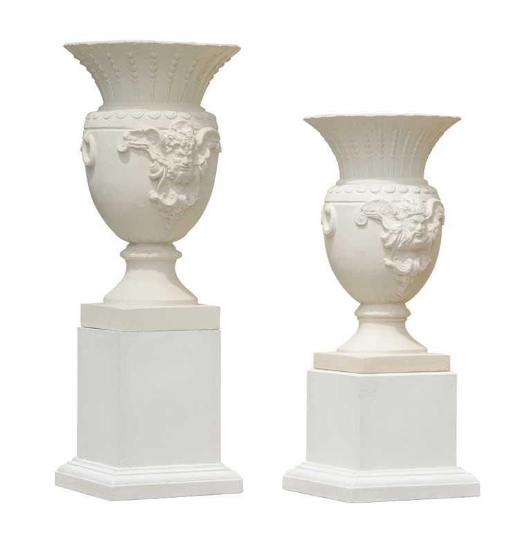 Pietro Stoneware Strasbourg Urns